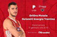 LBA Legabasket 1^ritorno 2019-20: la OriOra Pistoia nel posticipo di domenica sera attende la Dolomiti Energia Trentino