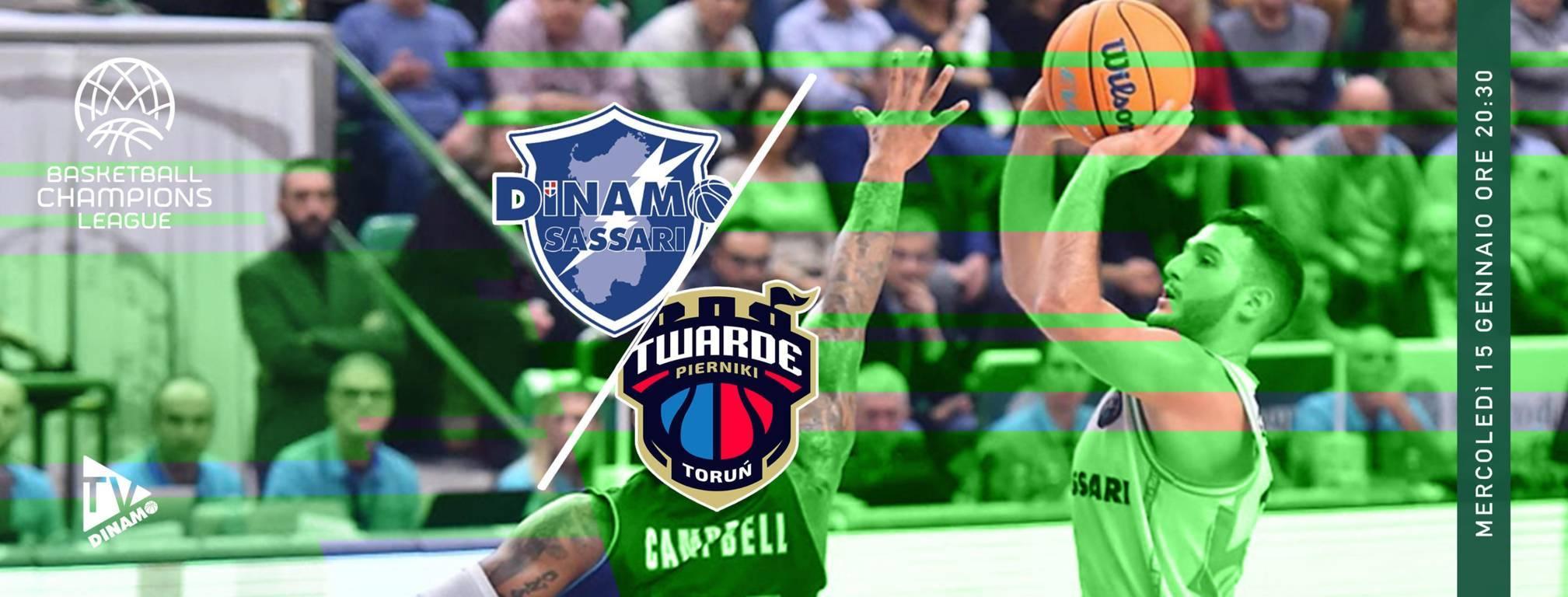 Basketball Champions League #Round11 2019-20: la Dinamo Sassari attend i polacchi del Polski Torun