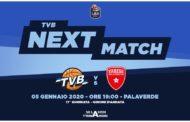 LBA Legabasket 17^giornata 2019-20: la Dé Longhi Treviso per chiudere in bellezza il girone d'andata, l'Openjobmetis Varese per sperare nelle F8 di Coppa Italia