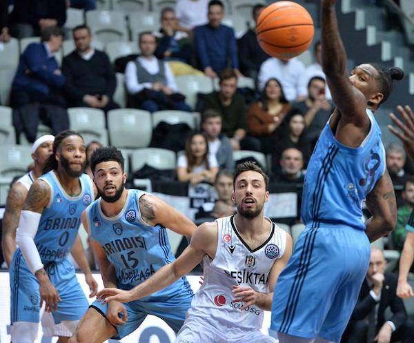 Basketball Champions League #Round11 2019-20: batosta per la Happy Casa ad Istanbul dal Besiktas