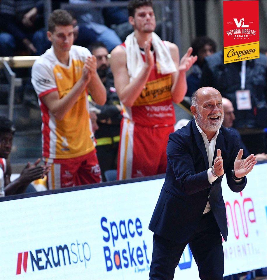 LBA Legabasket 2^ritorno 2019-20: il rischio per la Dinamo Sassari è che la Carpegna Prosciutto Pesaro ci creda