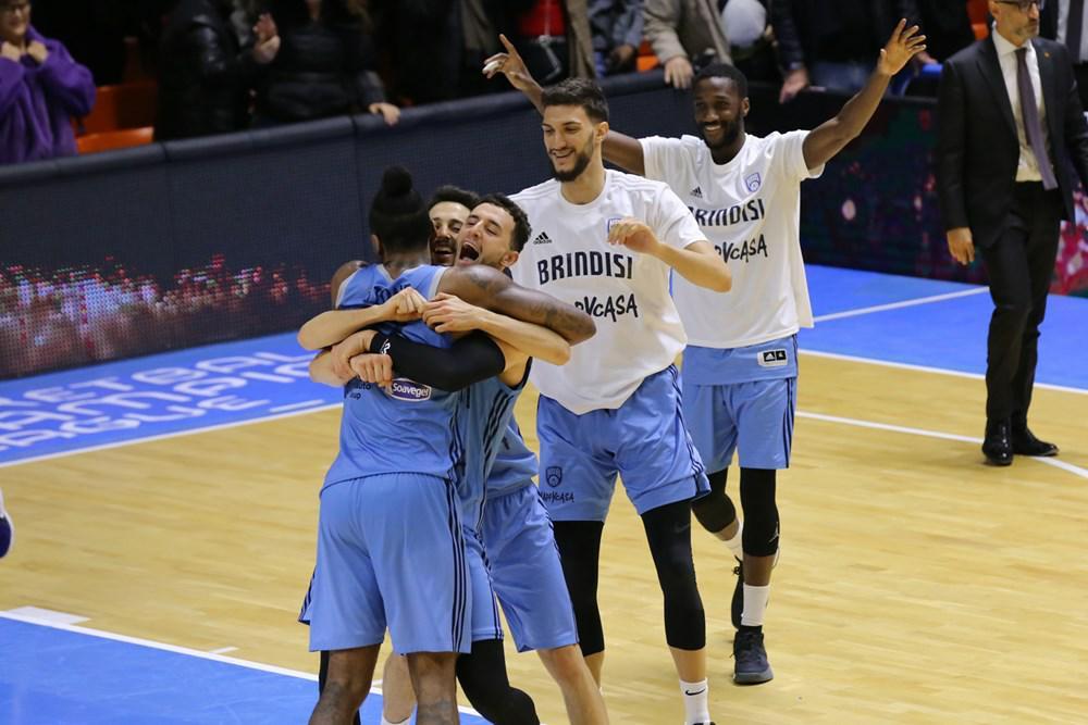 Basketball Champions League #Games12 2019-20: pazza Happy Casa Brindisi che vince anche questa gara all'ultimo tiro vs il Paok