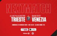 LBA Legabasket 1^ritorno 2019-20: derby del Triveneto tra Reyer Venezia ed Allianz Pallacanestro Trieste tra ex e ripartenze