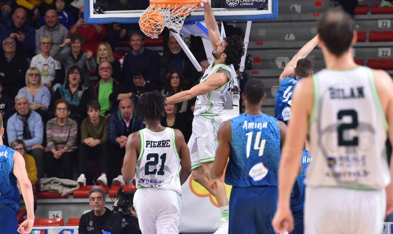 Basketball Champions League #Round11 2019-20: la Dinamo Sassari supera agevolmente il Polski Torun e vede gli ottavi