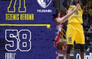 A2 Est Old Wild West 9^ ritorno 2019-20: Verona trova un convincente successo su Forlì