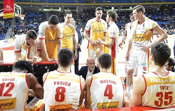 LBA Legabasket 5^ritorno 2019-20: il mezzogiorno della Carpegna Prosciutto Pesaro sarà con l'Happy Casa Brindisi