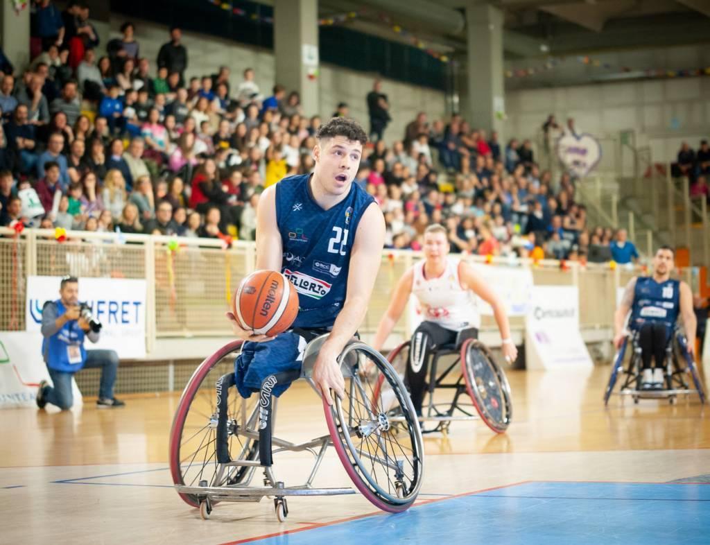 Basket in carrozzina #SerieAFipic Mercato 2020-21: Filippo Carossino ancora tre anni all'UnipolSai Briantea84 che allunga il rapporto fino al 2023