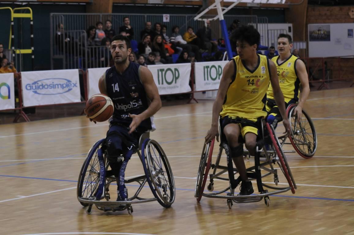 Basket in carrozzina #SerieAFipic 4^ritorno 2019-20: la sfida di Roma è dell'UnipolSai Briantea84 che blinda i Playoff battendo il Santa Lucia