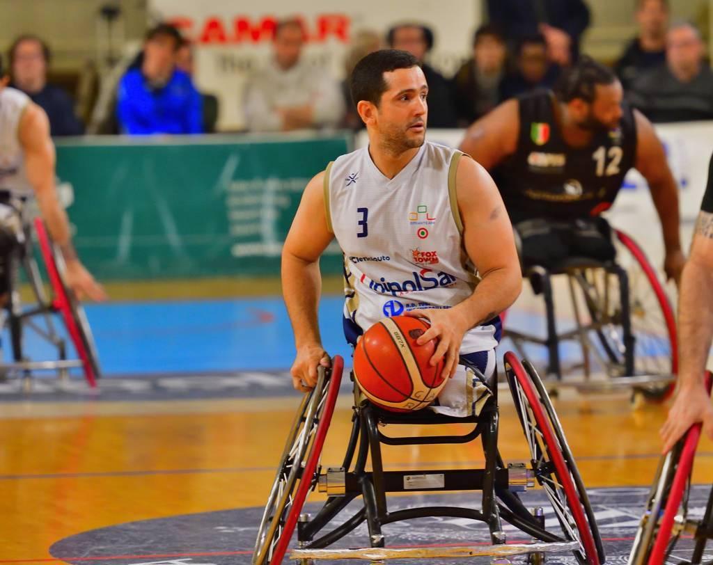 Basket in carrozzina Mercato 2020-21: si conclude il rapporto tra Marcos Sanchez e l'UnipolSai Briantea84