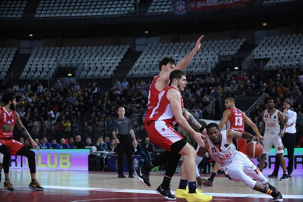 LBA Legabasket 4^ritorno 2019-20: la Virtus Roma certifica la sua crisi con la 7^sconfitta consecutiva in casa vs Pistoia