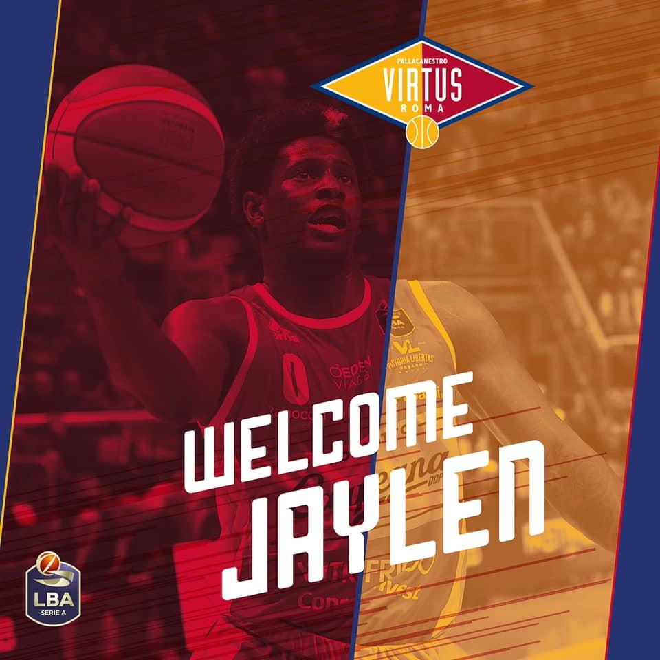 LBA Legabasket Mercato 2019-20: la Virtus Roma rafforza il proprio roster prelevando il rookie Jaylen Barford da Pesaro
