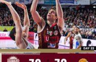 LBA Legabasket 5^ritorno 2019-20: derby del Veneto incandescente vince la Reyer Venezia vs la Dé Longhi Treviso