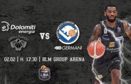 LBA Legabasket 4^ritorno 2019-20: una Dolomiti Energia Trentino che vuole stupire affronta in casa la Germani Basket Brescia
