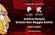 LBA Legabasket 5^ritorno 2019-20: il posticipo della domenica sera sarà la notte di Kobe in OriOra Pistoia vs Grissin Bon Reggio Emilia