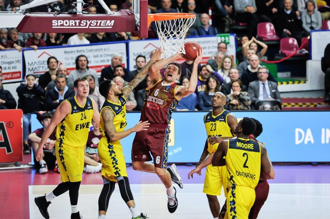 7DAYS EuroCup Top 16 #Round5 2019-20: la Reyer Venezia rialza la testa battendo l'EWE Baskets Oldenburg