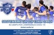 LBA Legabasket 2019-20: Dinamo Sassari e Fondazione Dinamo insieme in campo vs il COVID-19