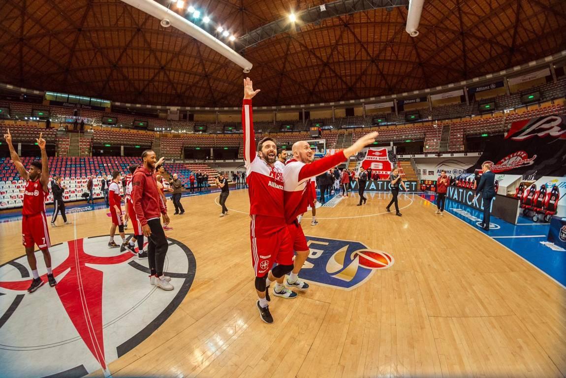 LBA Legabasket 7^ritorno 2019-20: l'Allianz Trieste batte l'OriOra Pistoia ed aggancia Virtus Roma e la stessa Pistoia in classifica
