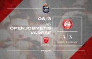 LBA Legabasket 7^ritorno 2019-20: tra Openjobmetis Varese ed Olimpia Milano il derby della storia anche se a porte chiuse