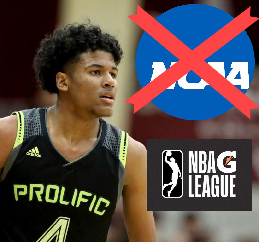 NCAA 2019-20: I talenti dell'High School scelgono la G-League, cosa cambia per l'NCAA