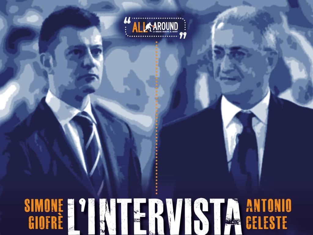 Interviste by All-Around.net 2019-20: da Brindisi con tanto, tanto amore per il basket con Simone Giofrè ed Antonio Celeste