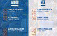 FIBA EuroBasket Men&Women 2020-21: ecco il nuovo calendario delle manifestazioni per l'Italbasket maschile e rosa