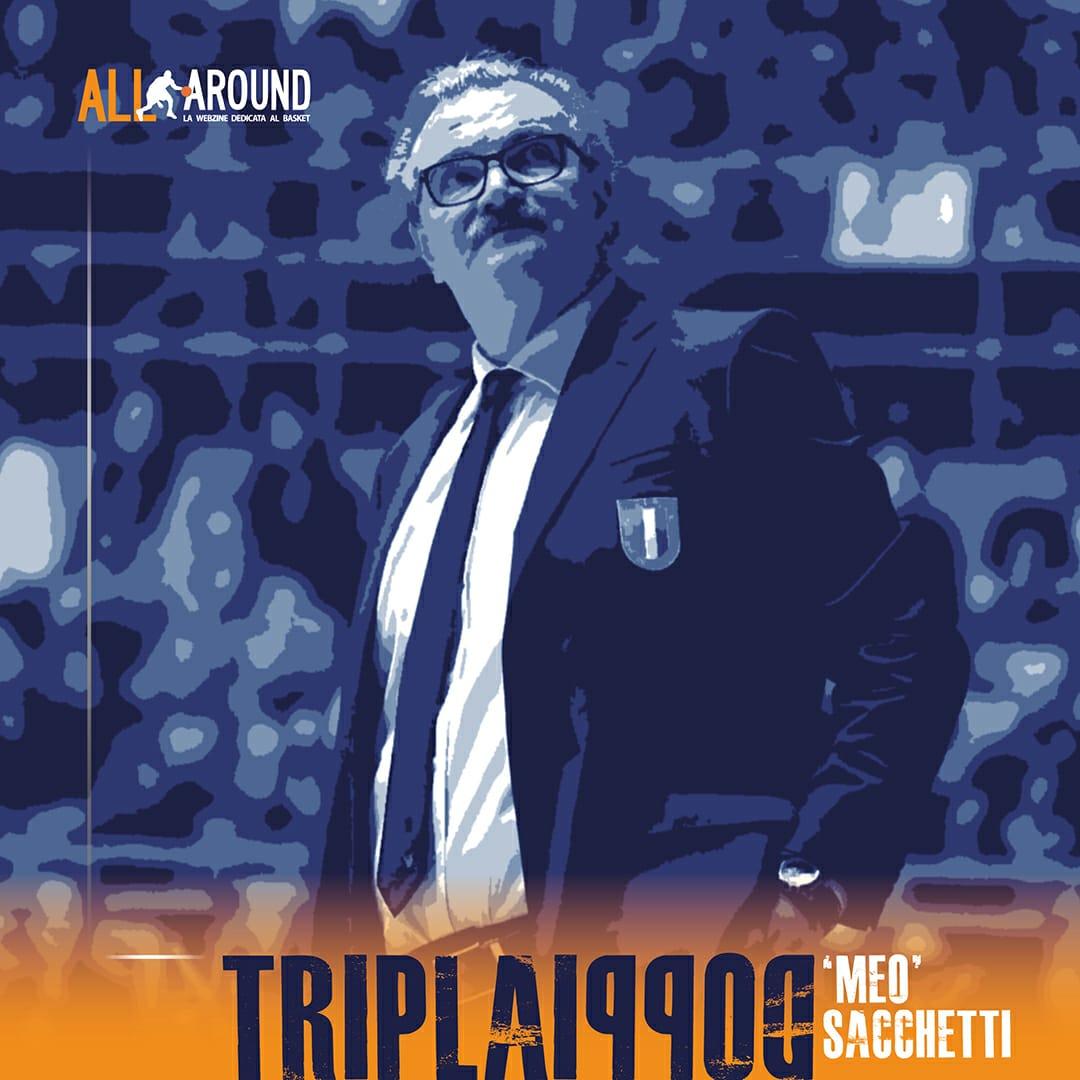 TriplaDoppia by All-Around.net 2019-20: 31^Puntata di TriplaDoppia con Romeo detto Meo Sacchetti, una vita in Azzurro!