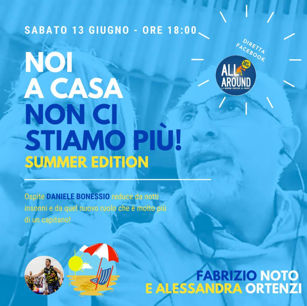 Storie di Basket 2019-20: sabato pomeriggio ai tempi del post COVID-19 con Fabrizio Noto ed Ale Ortenzi e Daniele