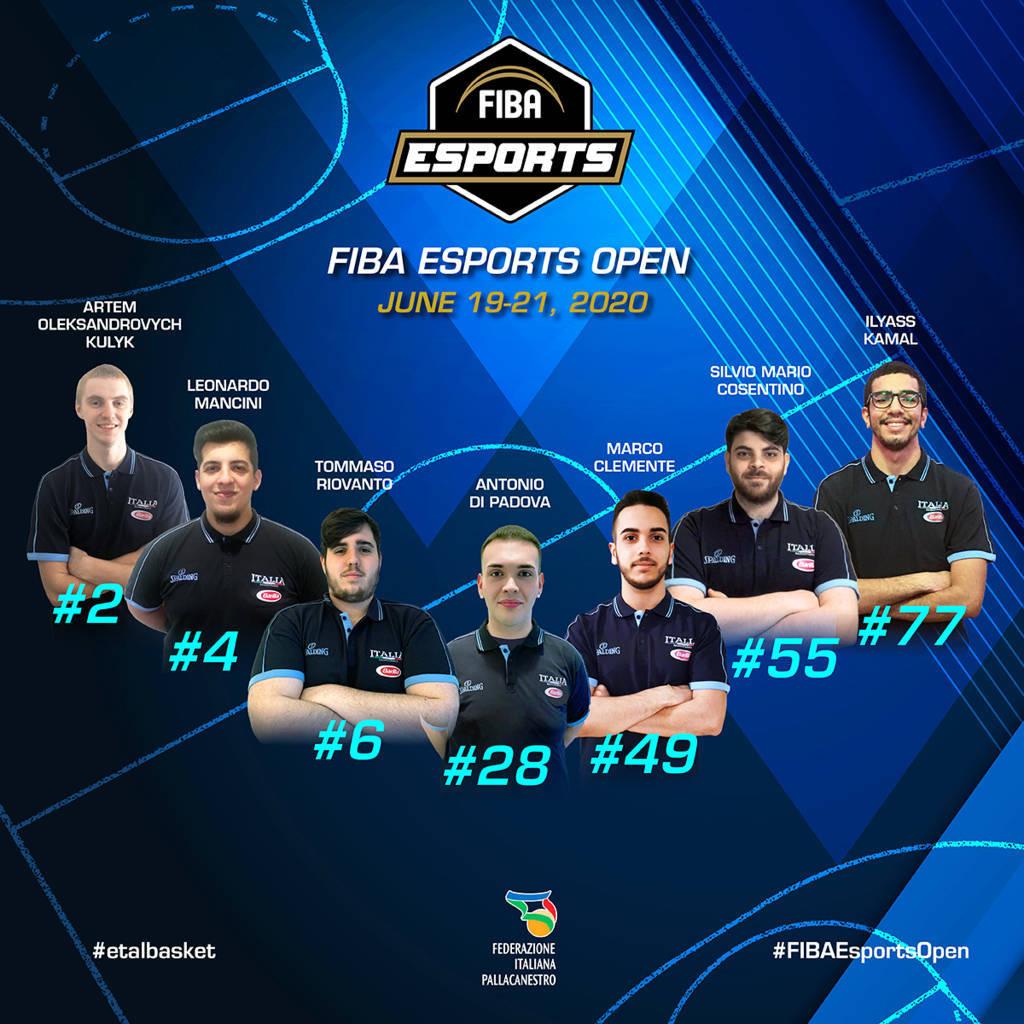 FIBA Esports Open 2020: alla prima giornata l'Italbasket virtuale vince vs Russia e Lettonia