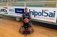 Basket in carrozzina #SerieAFipic Mercato 2002-21: primo nuovo acquisto per l'UnipolSai Briantea84 con Driss Saaid
