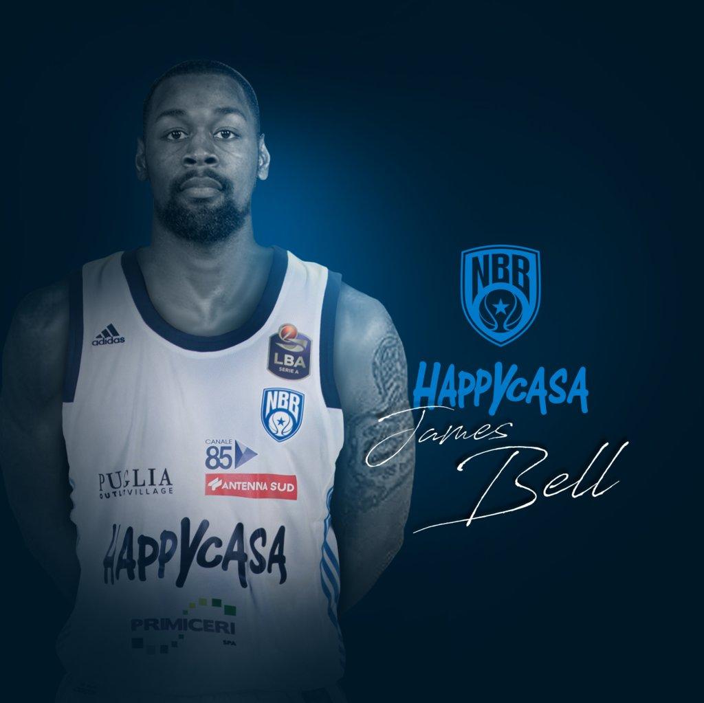 LBA Legabasket 2020-21: ecco le prime parole di James Bell alla Happy Casa Brindisi, da rookie con Cremona ma sempre in biancoazzurro
