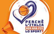 Storie di Basket 2020-21: perchè l'Italia non ama lo sport? Ve lo abbiamo raccontato in diretta Facebook...