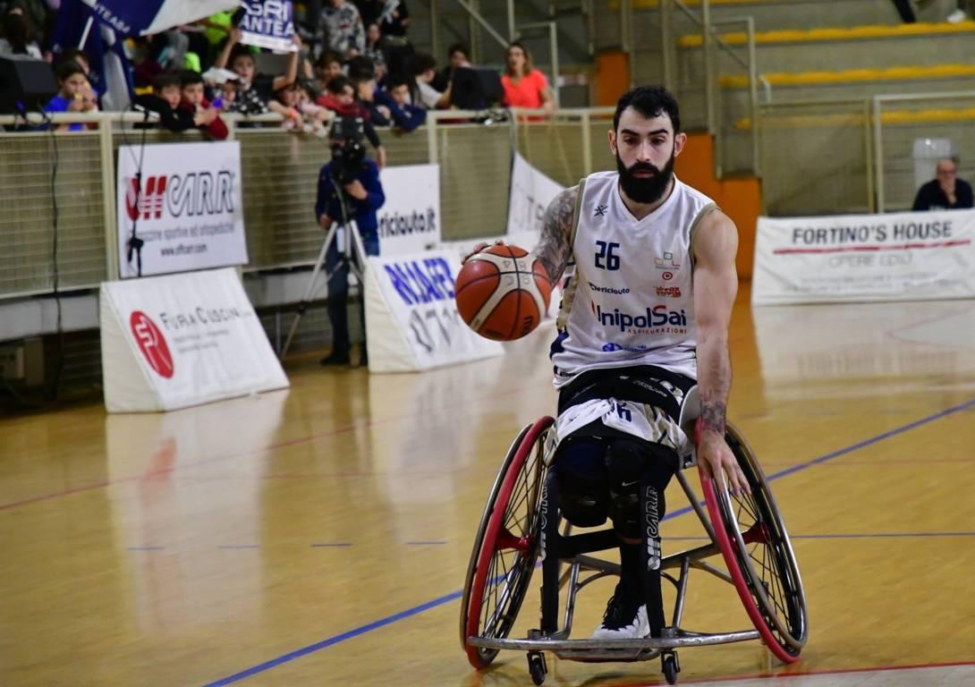 Basket in carrozzina Mercato #SerieAFipic 2020-21: finita la prima parte della preparazione dell'UnipolSai Briantea84 Cantù con anche la conferma di Simone Maggi