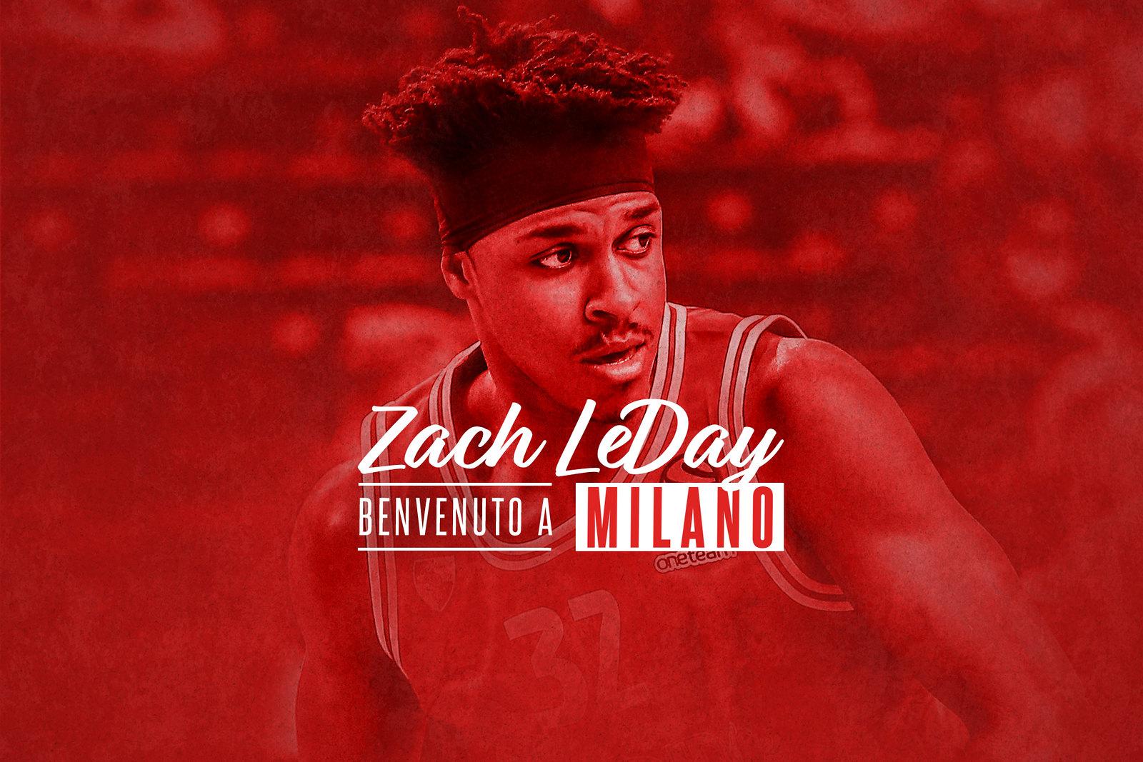 LBA Legabasket 2020-21: l'Olimpia Milano chiude il suo mercato con l'arrivo di Zach LeDay da Kaunas