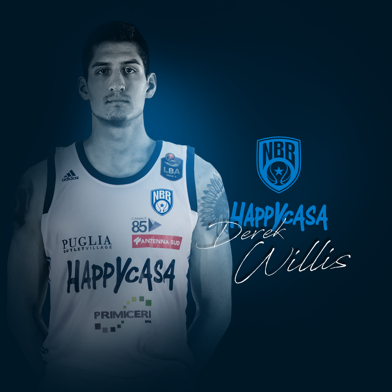 LBA Legabasket Mercato 2020-21: ecco Derek Willis, il secondo colpo del mercato di Brindisi by Simone Giofré