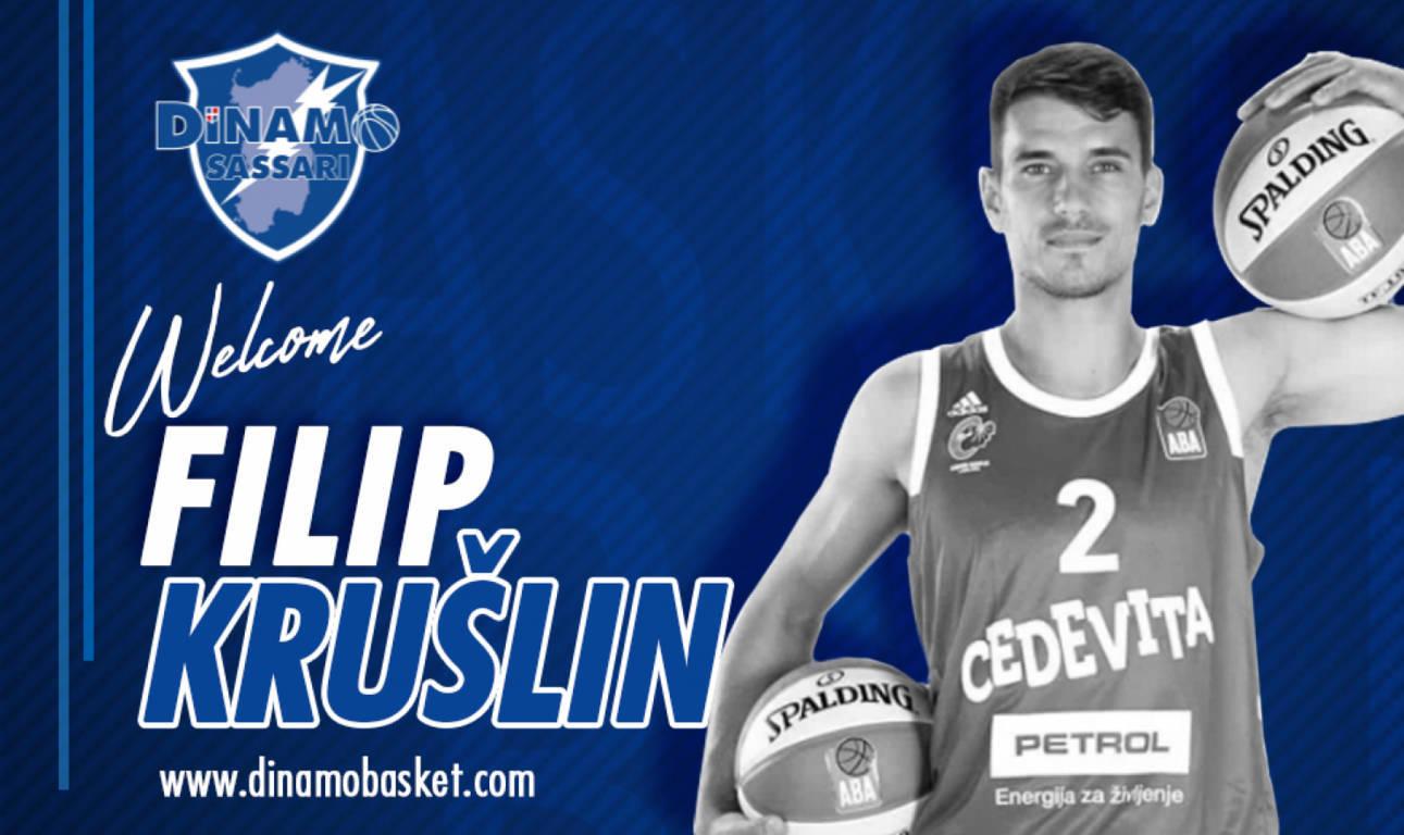 LBA Legabasket Mercato 2020-21: il croato Filip Kruslin a Sassari e finalmente Christian Burns ufficializzato a Brescia