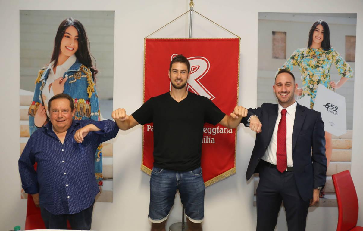 LBA Legabasket Mercato 2020-21: la Pallacanestro Reggiana ha presentato il ceco Tomas Kyzlink