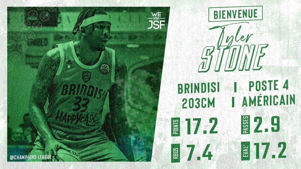 LBA Legabasket Mercato 2020-21: prosegue l'esodo da Brindisi con Tyler Stone a Nanterre