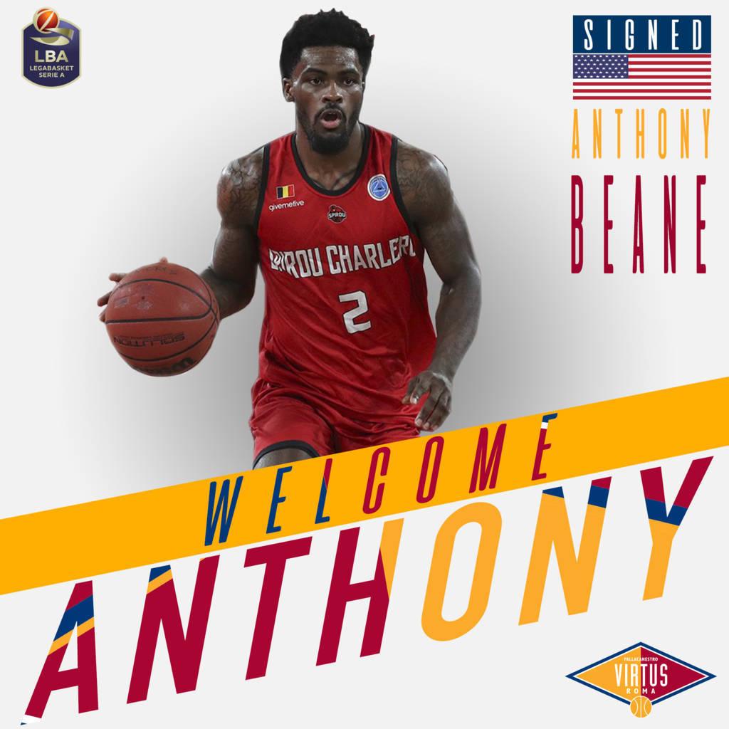 LBA Legabasket Mercato 2020-21: corre sempre più veloce la Virtus Roma con l'ingaggio della guardia Anthony Beane