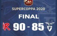 Eurosport LBA SuperCoppa 2020: a Desio di un solo punto passa Brescia vs Cantù mentre Reggio Emilia sgambetta la Fortitudo