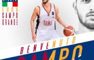 LBA Legabasket Mercato 2020-21: primo arrivo anche in casa Virtus Roma ecco Luca Campogrande