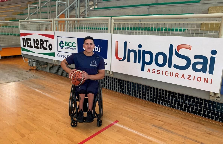 Basket in carrozzina #SerieAFipic Mercato 2020-21: la UnipolSai Briantea84 riporta in Italia Alberto Esteche