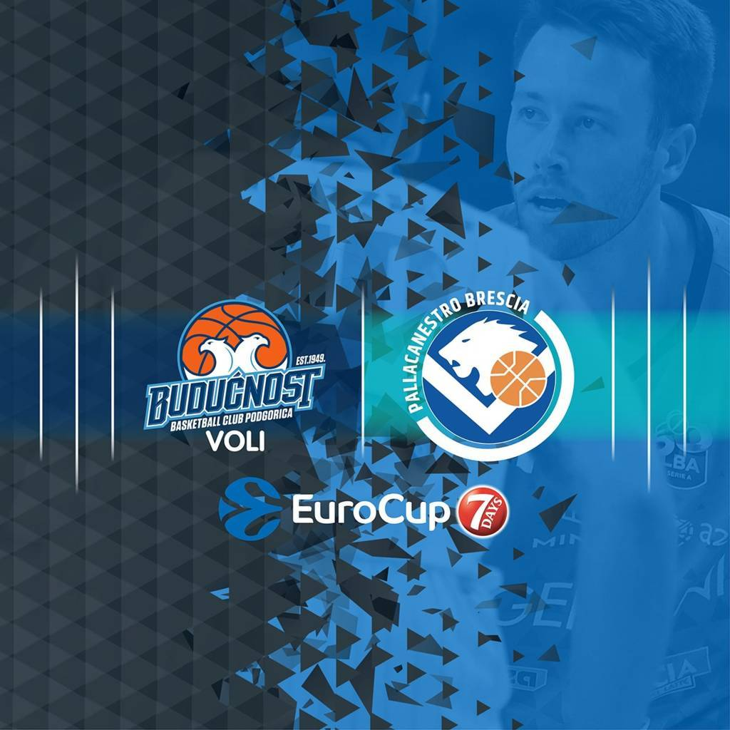 7DAYS Eurocup #Round1 2020-21: debutta la Germani Brescia in Montenegro sul difficile campo del Budcnost