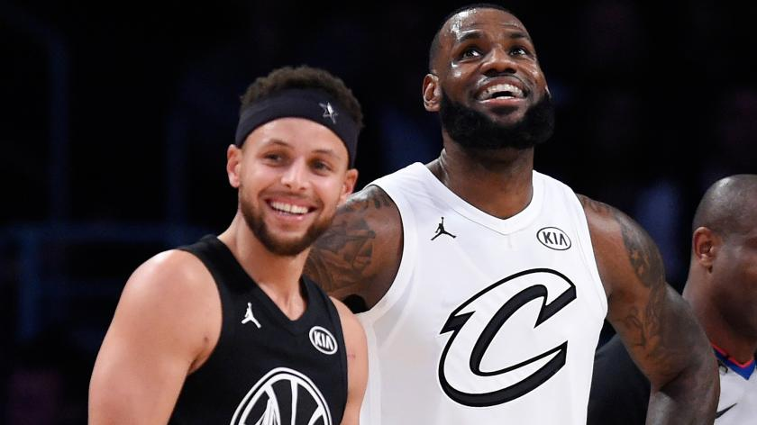 NBA 2019-20: LeBron James e Stephen Curry, i protagonisti del decennio NBA
