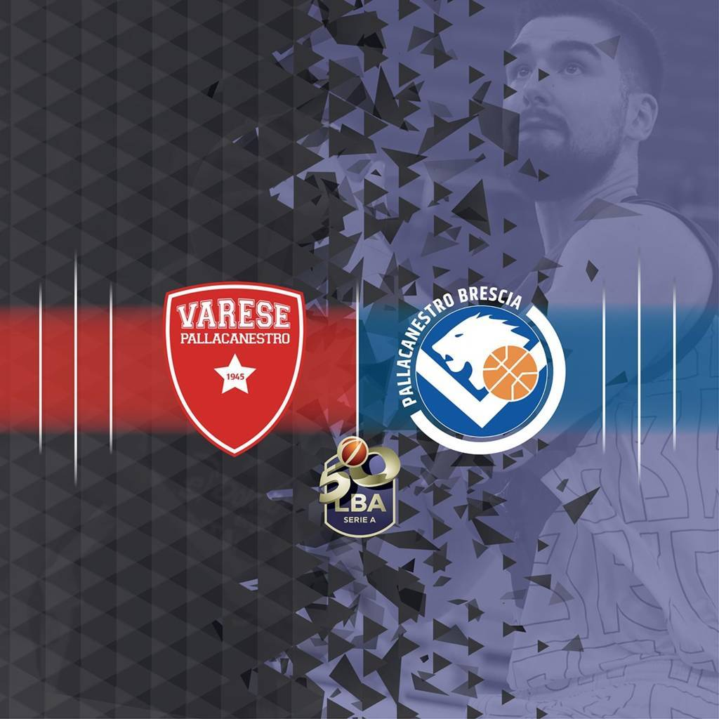 LBA Legabasket 1^ andata 2020-21: il debutto per Varese  e Brescia è un altro derby dopo le due gare di Supercoppa