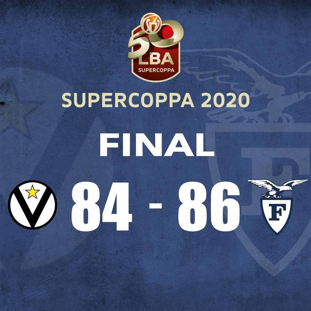 Eurosport LBA Supercoppa 2020: è un derby ruvido e tosto questa volta ha la meglio la Fortitudo che batte la Virtus Bologna 84-86