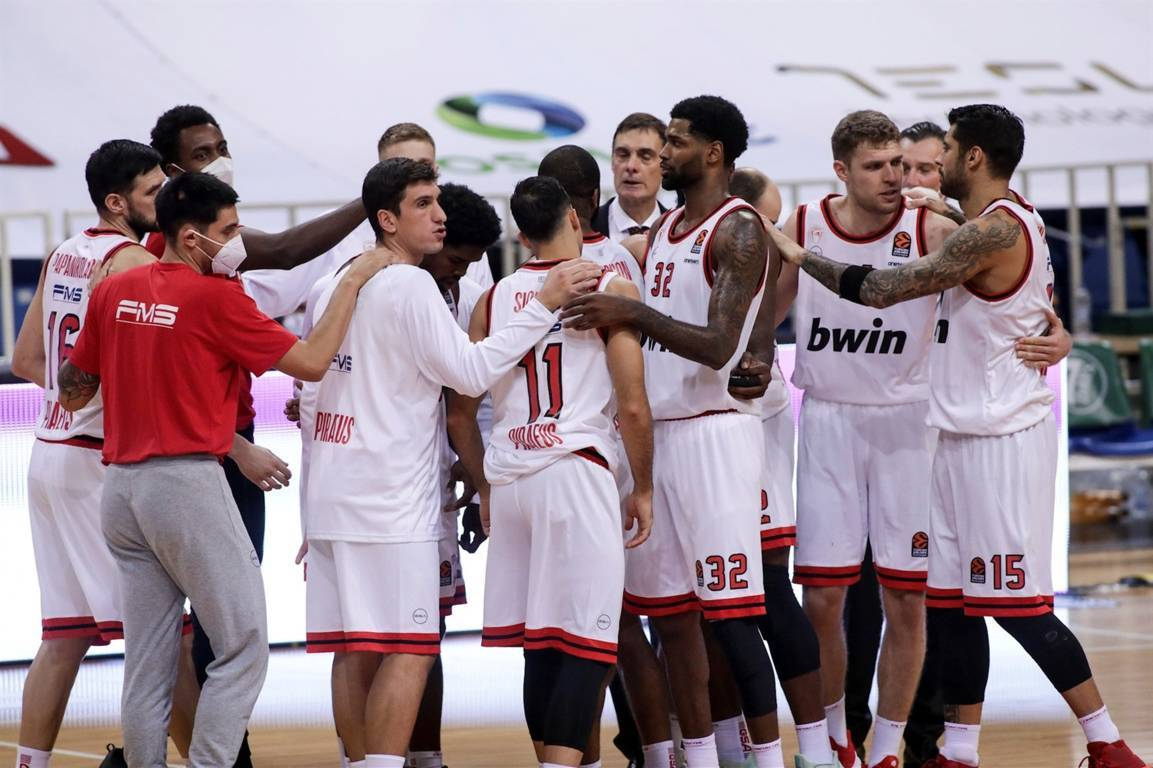 Turkish Airlines Euroleague #Round2 2020-21: cadono le spagnole. All'Olympiacos il derby di Atene