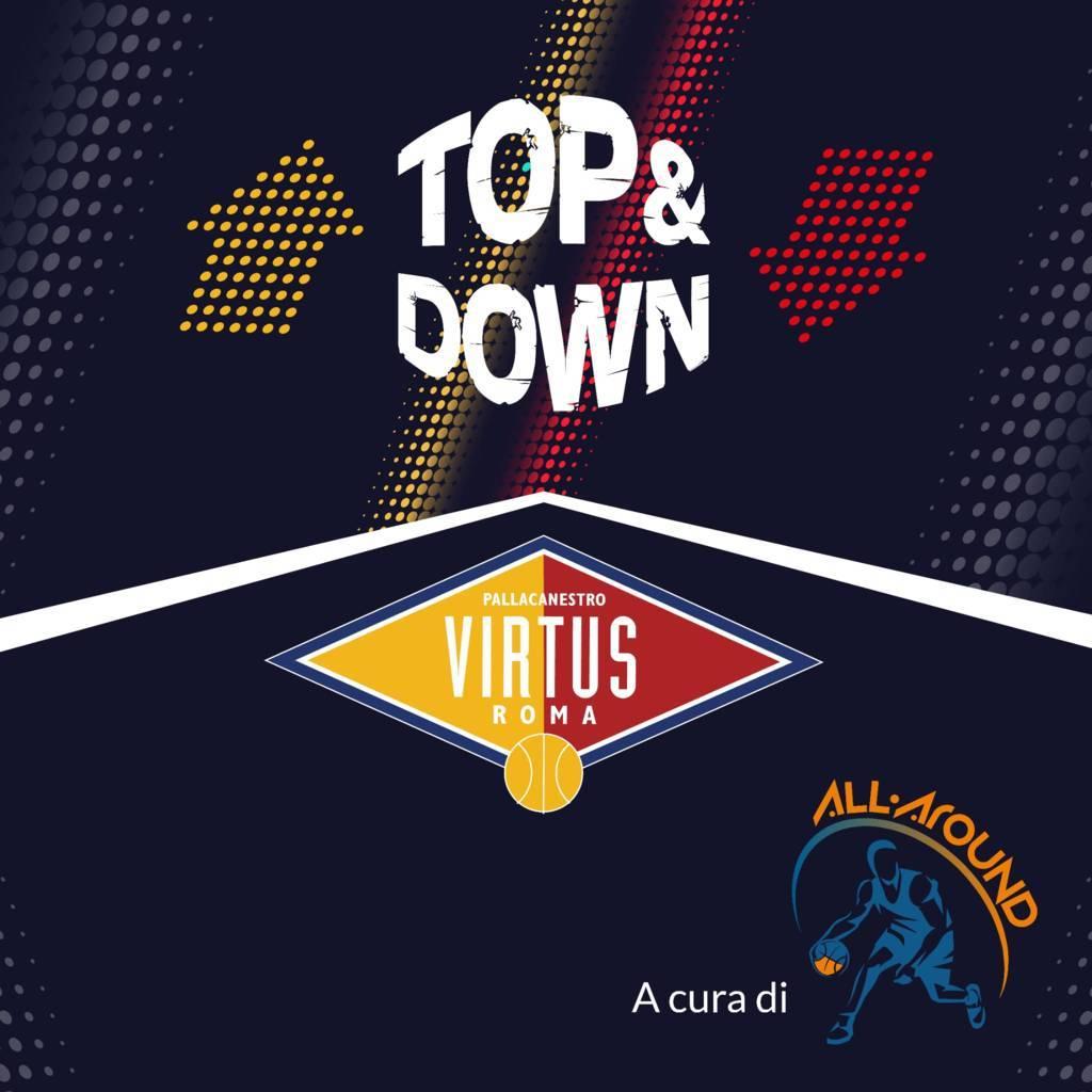 LBA Unipolsai 9^ andata 2020-21: i Top e Down della Virtus Roma a Cantù, sotto un cielo di triple biancoblu. (101-85)