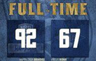 LBA Legabasket 2^ andata 2020-21: Happy Casa Brindisi vs Virtus Roma è di fatto il terzo tempo della Supercoppa di Olbia, OK per Brindisi quasi a mani basse!