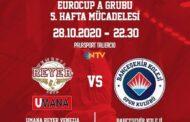 7DAYS Eurocup #Round5 2020-21: la Reyer Venezia è già spalle al muro e deve battere in casa il Bahcesehir Koleji Istanbul