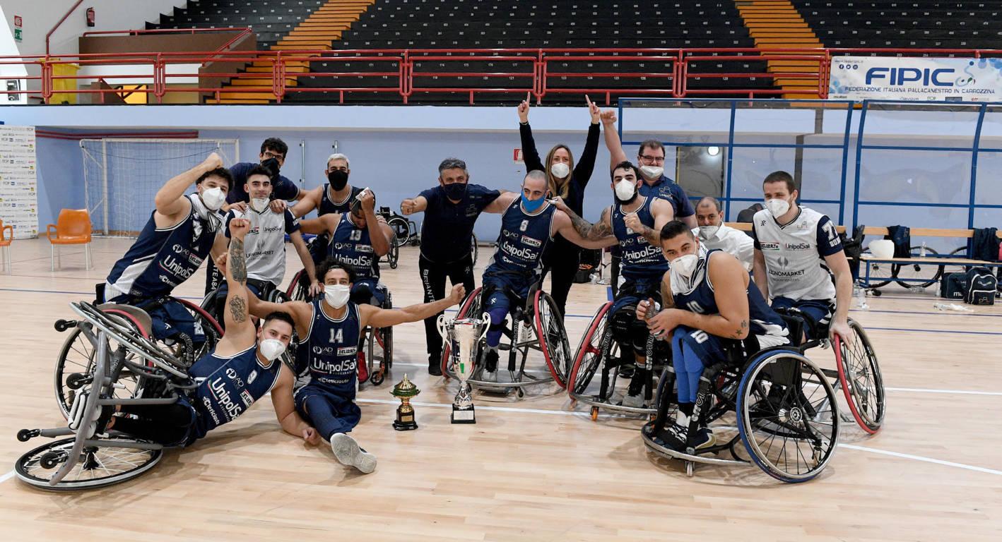 Basket in carrozzina #SerieAFipic 2020-21: l'UnipolSai Briantea84 festeggia il primo posto ai Gazzetta Sports Awards e va in pausa per le festività